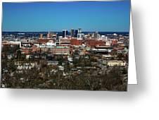Birmingham Alabama Greeting Card