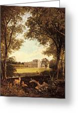 Boddington Henry John A View Of Norton Hall Henry John Boddington Greeting Card