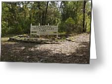 Cassadaga Spiritualist Camp In Florida Greeting Card
