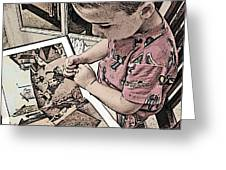 Children Series Greeting Card