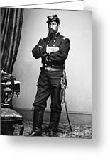 Civil War: Union Soldier Greeting Card