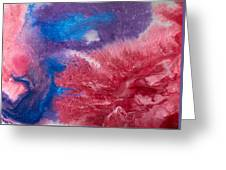 Color Abstracts Greeting Card