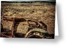 Derelict Transport Greeting Card