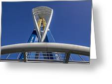 Emirates Spinnaker Tower Greeting Card