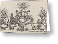 Fantastic Vases Greeting Card