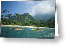 Fiji, Kadavu Island Greeting Card