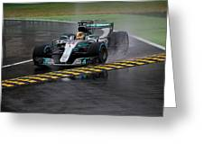 Formula 1 Monza 2017 Greeting Card