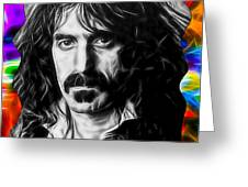 Frank Zappa Collection Greeting Card