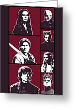Game Of Thrones. Lannister. Greeting Card