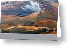 Haleakala Crater Greeting Card