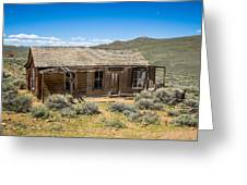 Homestead, Bodie Ghost Town Greeting Card