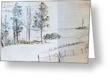 Idaho Landscape Book Greeting Card