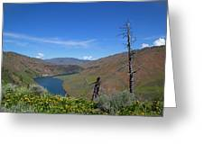 Idaho Landscape Greeting Card