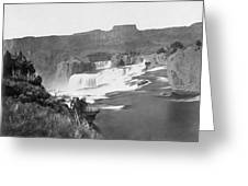 Idaho: Shoshone Falls Greeting Card