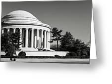 Jefferson Memorial In Washington Dc Greeting Card
