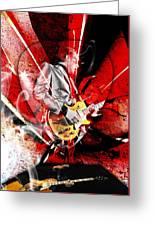 Joe Bonamassa Blues Guitarist Art. Greeting Card