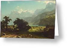 Lake Lucerne Greeting Card
