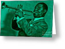 Louis Armstrong Collection Greeting Card