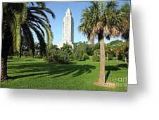 Louisiana State Capitol Greeting Card