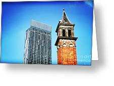 Manchester - Beetham Tower Greeting Card