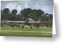 Mark 1 Hawker Hurricane Greeting Card