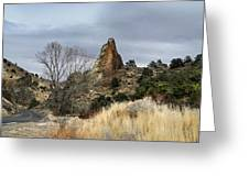 6 Mile Canyon Drive-2241-r2 Greeting Card
