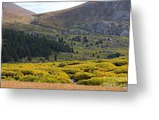 Mount Bierstadt In The Arapahoe National Forest Greeting Card