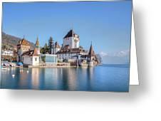 Oberhofen - Switzerland Greeting Card