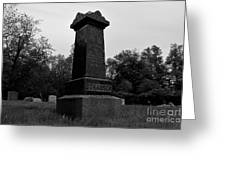 Odd Fellows Cemetery Greeting Card
