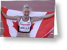 Pam Am Games Athletics Greeting Card