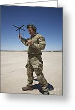 Pararescuemen Conducts A Communications Greeting Card