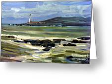 Pigeon Point Light Greeting Card