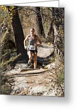 Pikes Peak Road Runners Fall Series IIi Race Greeting Card