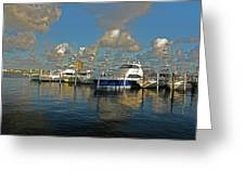 6- Sailfish Marina Greeting Card