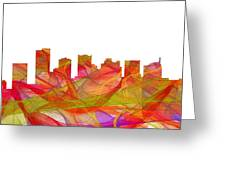 Scottsdale Arizona Skyline Greeting Card