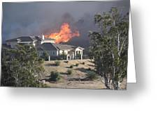 Socal Fires Greeting Card