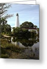 St. Mark's Lighthouse Greeting Card