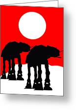 Star Wars At-at Collection Greeting Card