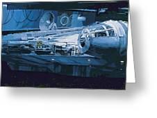 Star Wars Episode 6 Poster Greeting Card