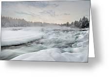 Storforsen - Sweden Greeting Card