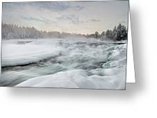 Storforsen - Sweden Greeting Card