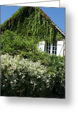 Street Scenes From Giverny France Greeting Card