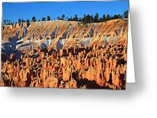 Sunset Point In Bryce Canyon Greeting Card