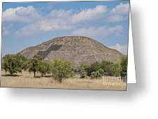 The Famous Pyramid Of The Moon Greeting Card