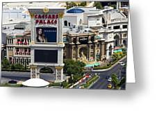 The Forum Shops Greeting Card