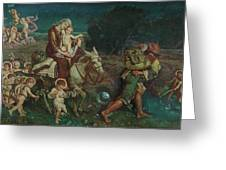 The Triumph Of The Innocents Greeting Card