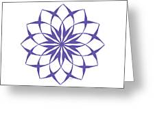 6 Third Eye Chakra Greeting Card