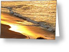 Black Sand 1 Greeting Card