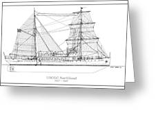 U.s. Coast Guard Cutter Northland Greeting Card