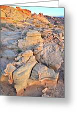 Valley Of Fire Sunrise Greeting Card